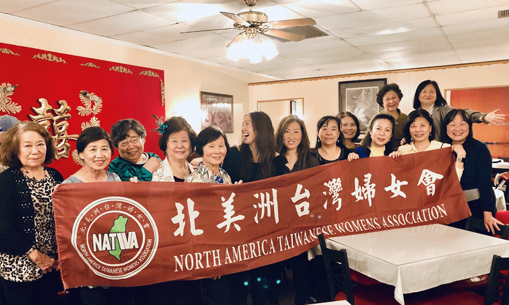 Dr. Huang-Lionnet, M.D.  speaking at the North America Taiwanese Women's Association