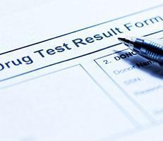 drug testing form