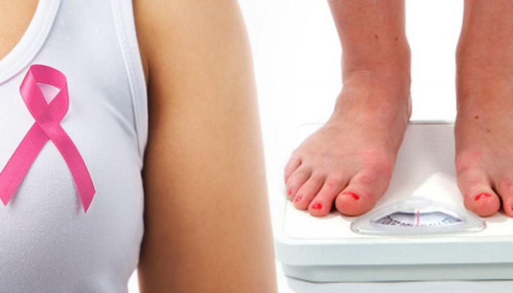Breast cancer and weight gain