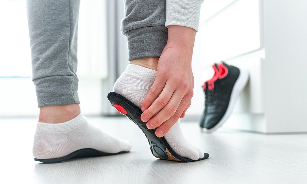 Orthotics for painful feet