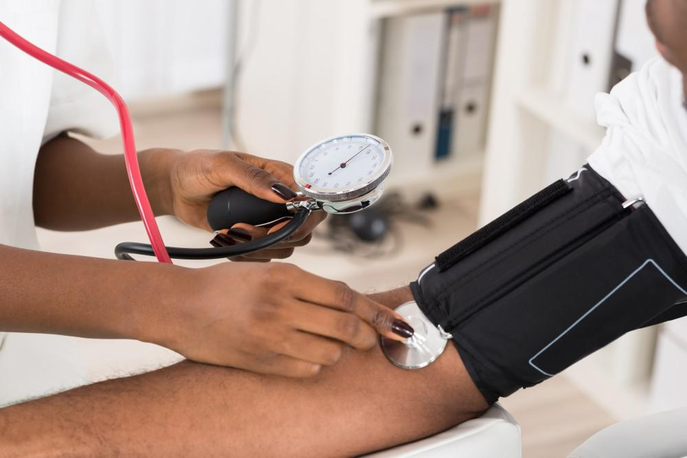 Checking your blood pressure is essential.
