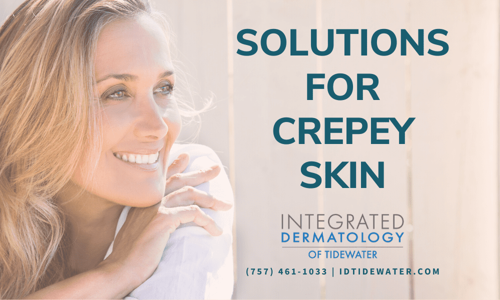 Solutions for Crepey Skin