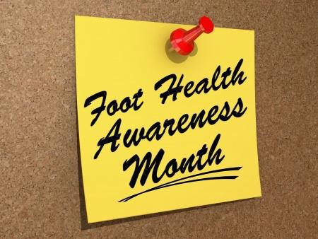 April is Foot Health Awareness Month