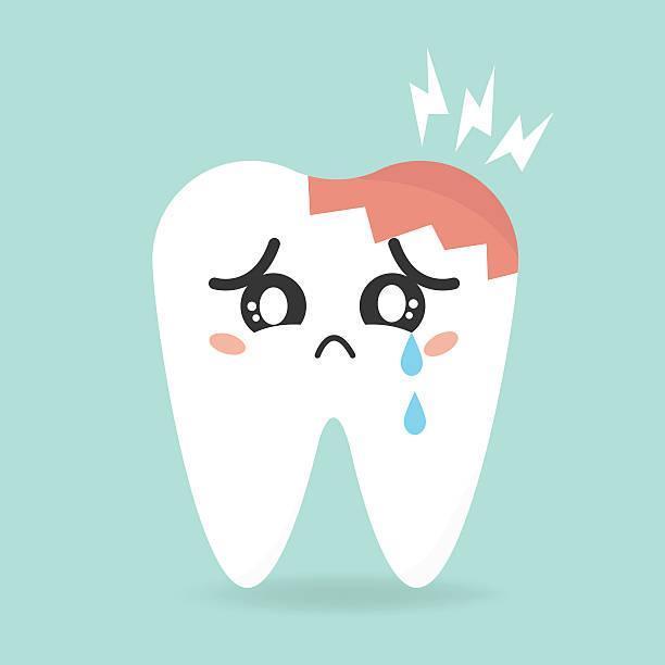 Tooth pain illustration
