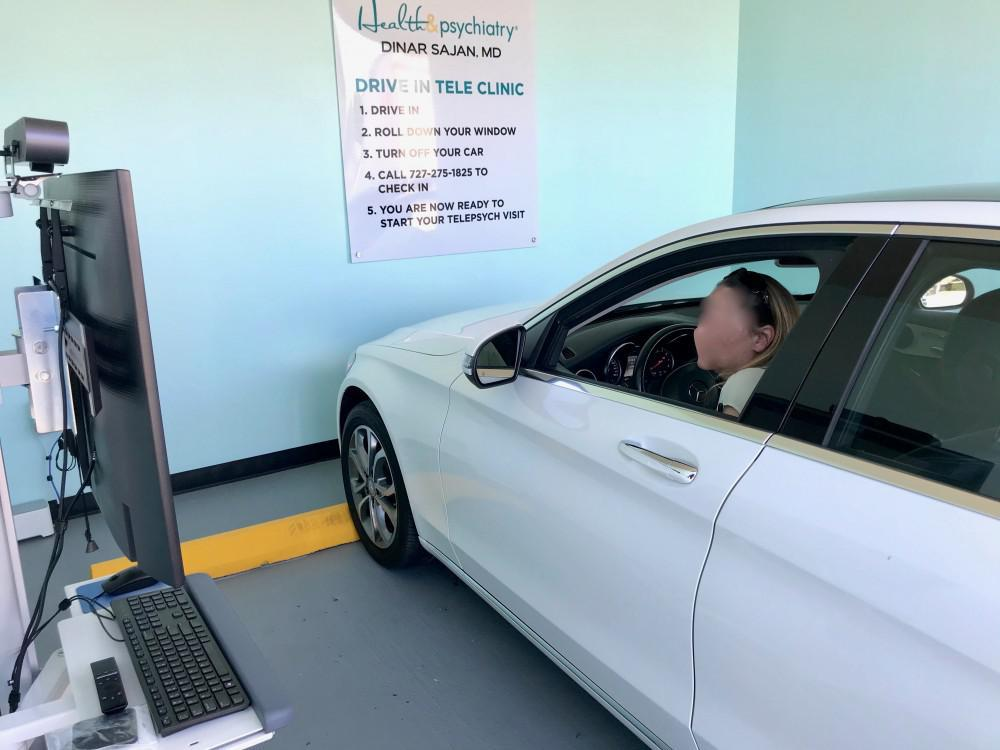 Health and Psychiatry Drive-In Tele Health Clinic