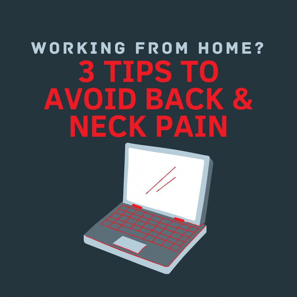 3 hacks for avoiding back pain while working at home