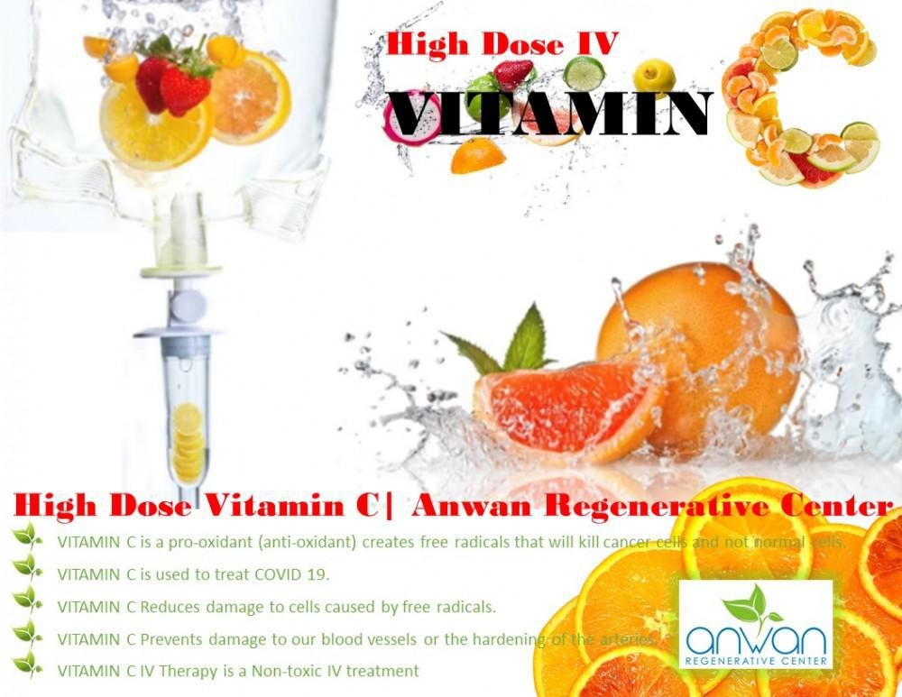 THE BENEFITS OF HIGH DOSE VITAMIN C