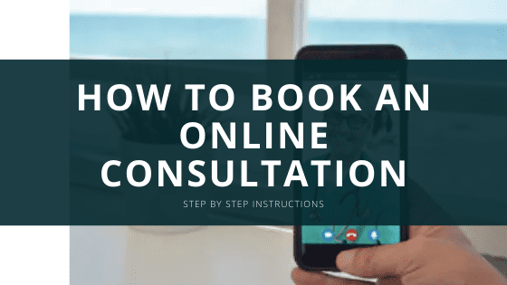 how to book online consult