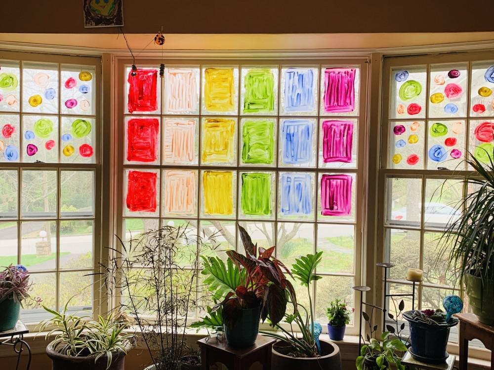 Rainbow Window Inspiration