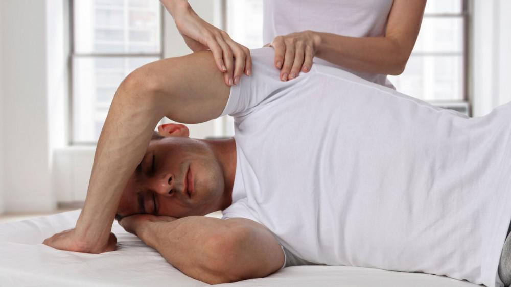 Massage Therapy by a physical Therapist