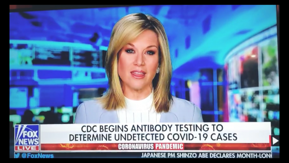 CDC begins antibody testing for undetected covid-19 cases