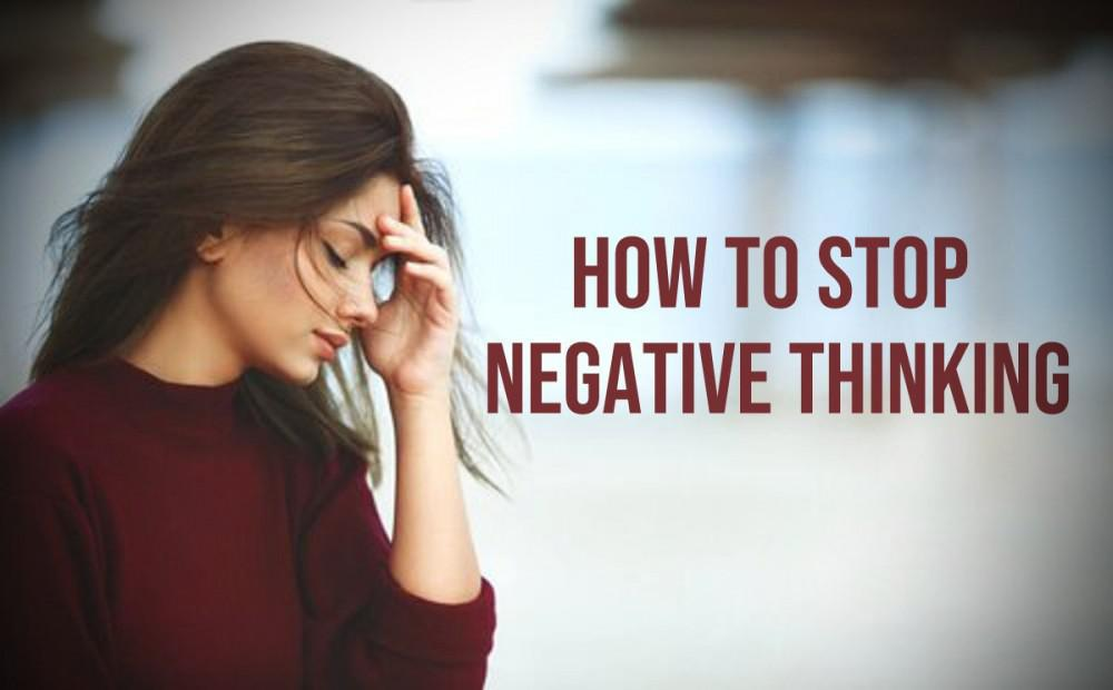 Here we go again...Negative Thoughts