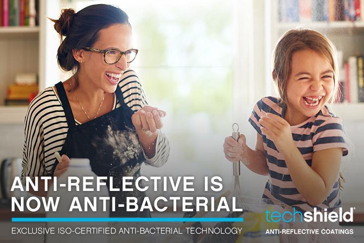 VSPOptics announced the launch ofTechShield®Anti-Reflective Coatingswith ISO-certified anti-bacterial technology.