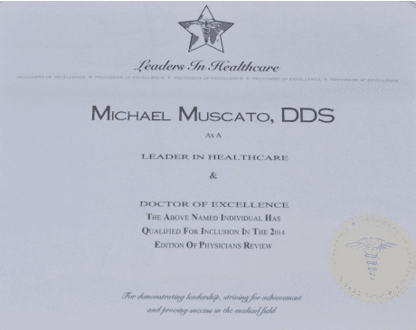 ,  Office of Michael Muscato, DDS).'