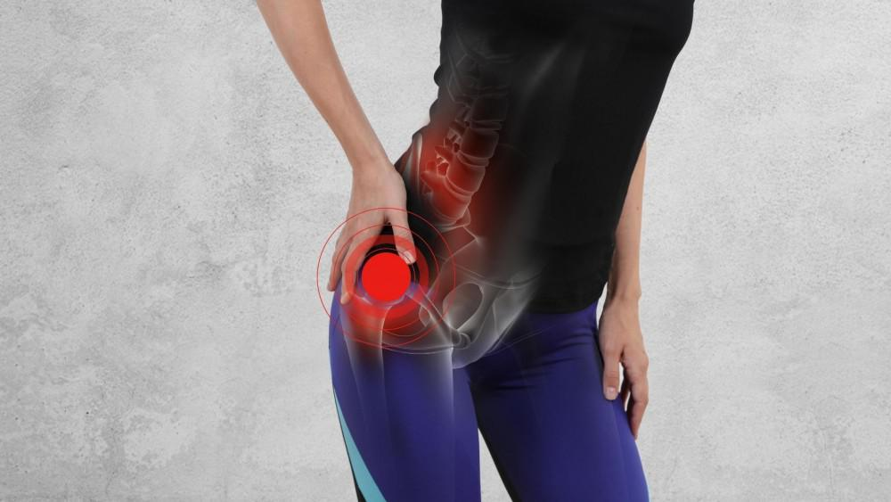 Hip pain can be debilitating