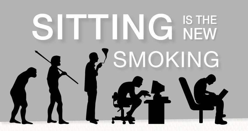 Sitting equals smoking