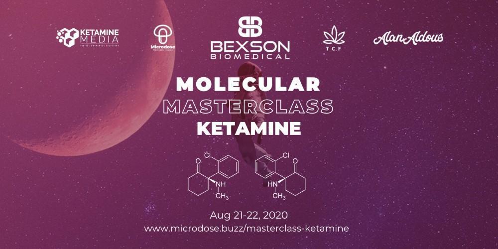 Molecular Masterclass Ketamine Conference 2020