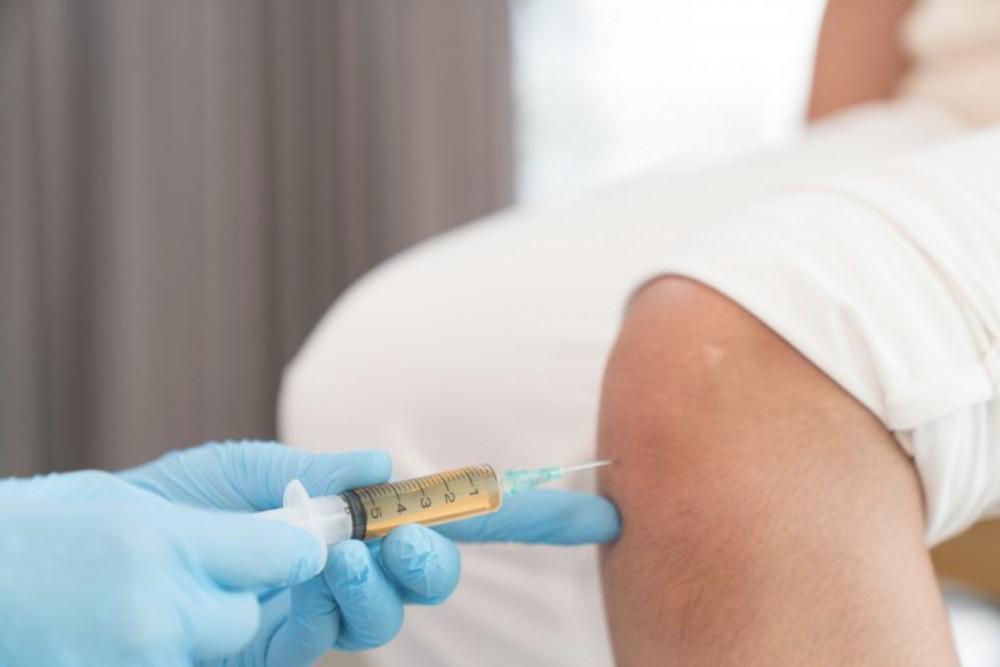 injection given in arm
