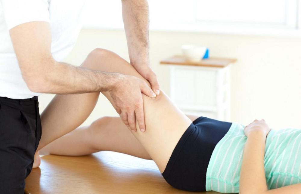Thigh massage
