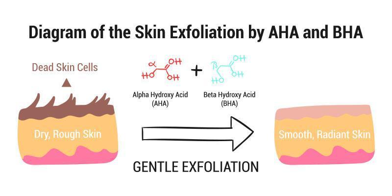 AHA and BHA Acids