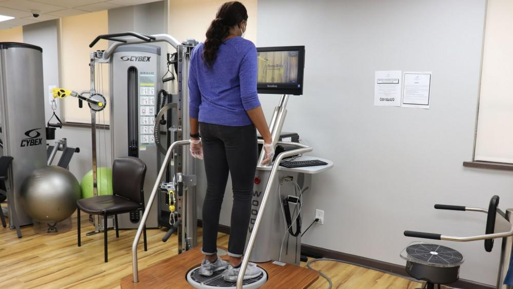 Technobody Balance machine at Reddy Care PT & OT