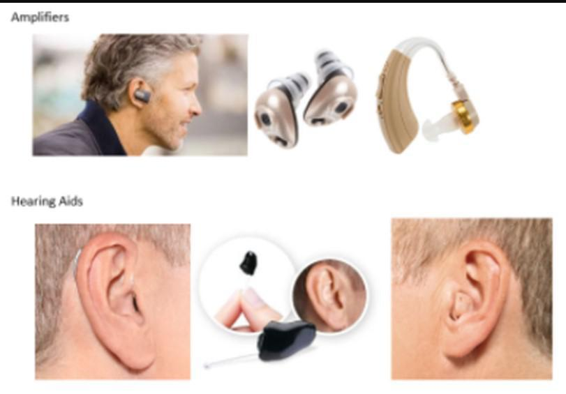 Hearing Aids and Amplifiers