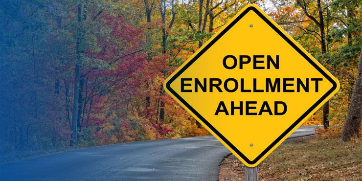 Warning Sign for Open Enrollment
