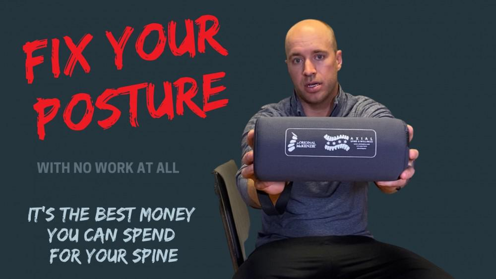 Back & sciatica relief from postural correction