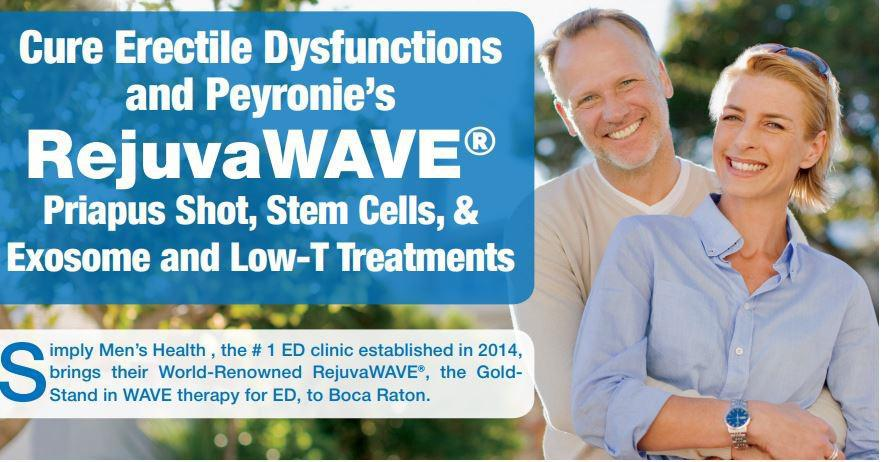 Erectile Dysfunction Treatments Simply Men's Health  Palm Beach Boca Raton