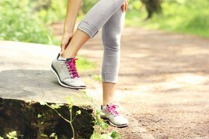 Ankle pain during a run