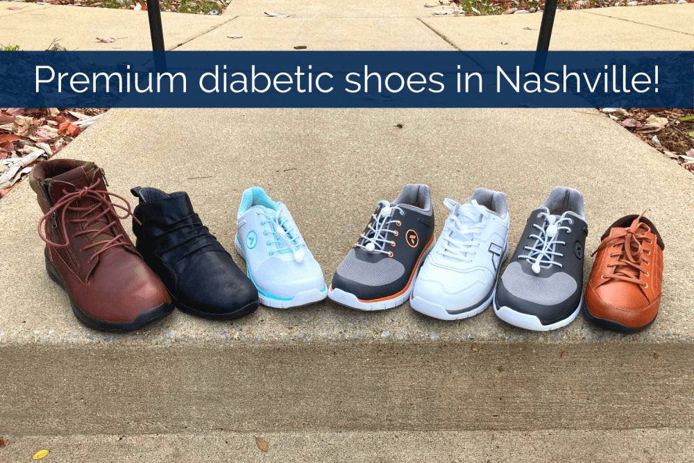 Diabetic Shoes in Nashville, Tennessee