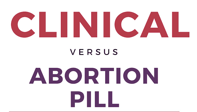 Clinical Abortion vs Abortion Pill
