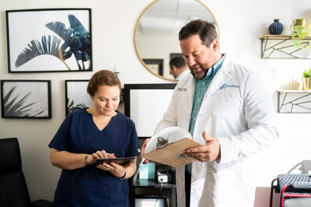 Dr. Oliver, our team of attending physicians, and registered nurses work diligently to ensure each patient to ensure they are