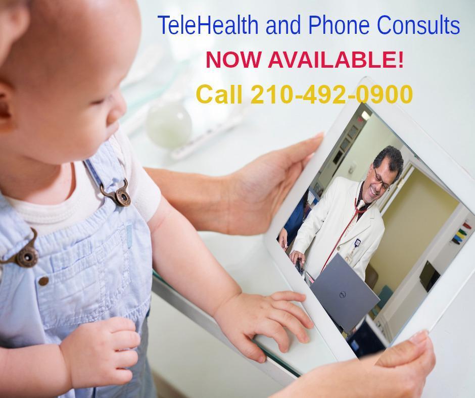TeleHealth:  Call 210-492-0900