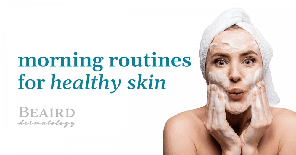 Morning Routine For Healthy Skin