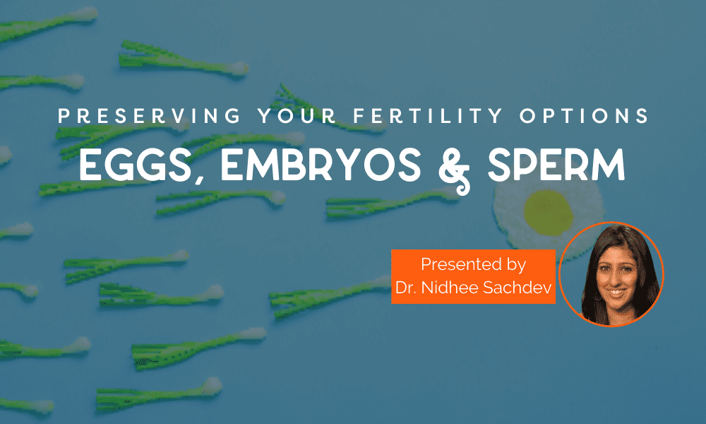 Preserving All Your Options—Eggs, Embryos and Sperm