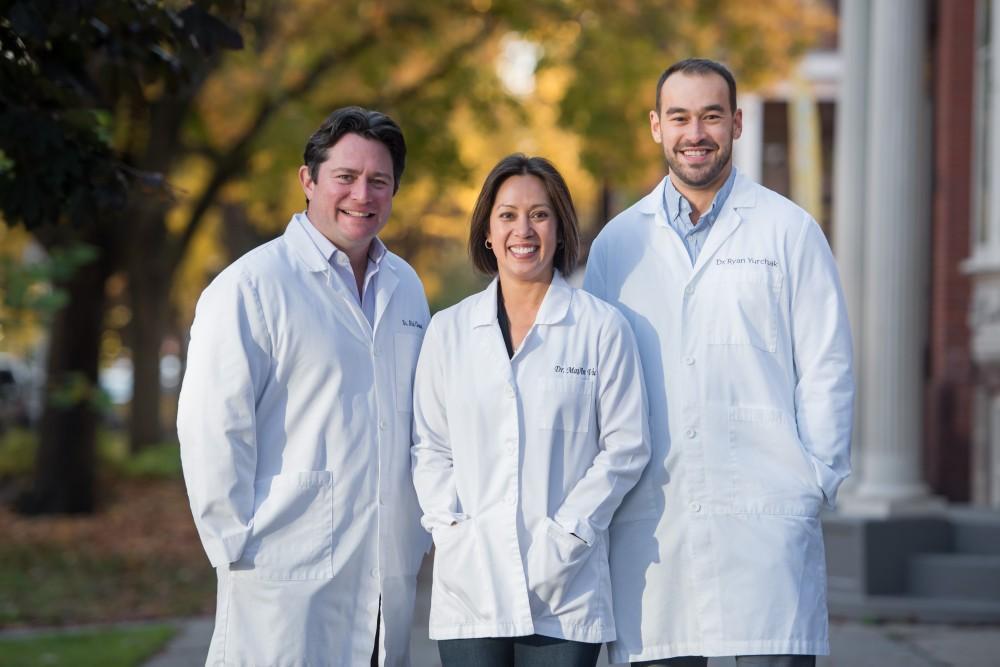 Dr. Chauvin, Dr. Vu & Dr. Yurchak