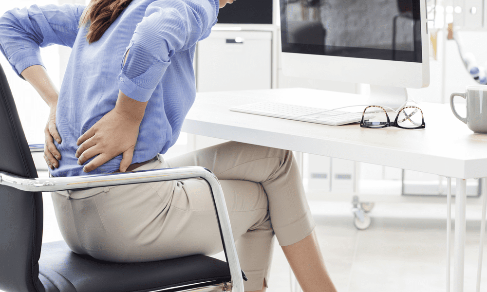 Back Pain is a Common Ailment for Any Desk Worker