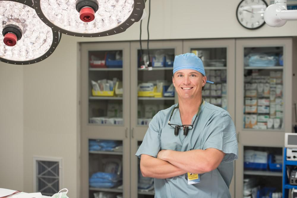Spine Specialist, Dr. Colin Crosby, Nashville, TN, and Franklin, TN