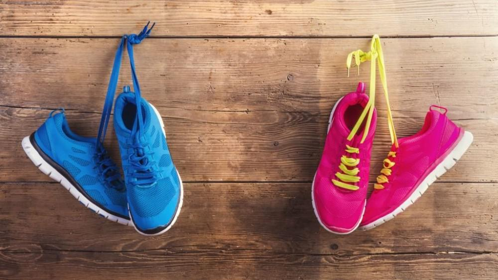 Proper shoe selection and care can help keep you active.