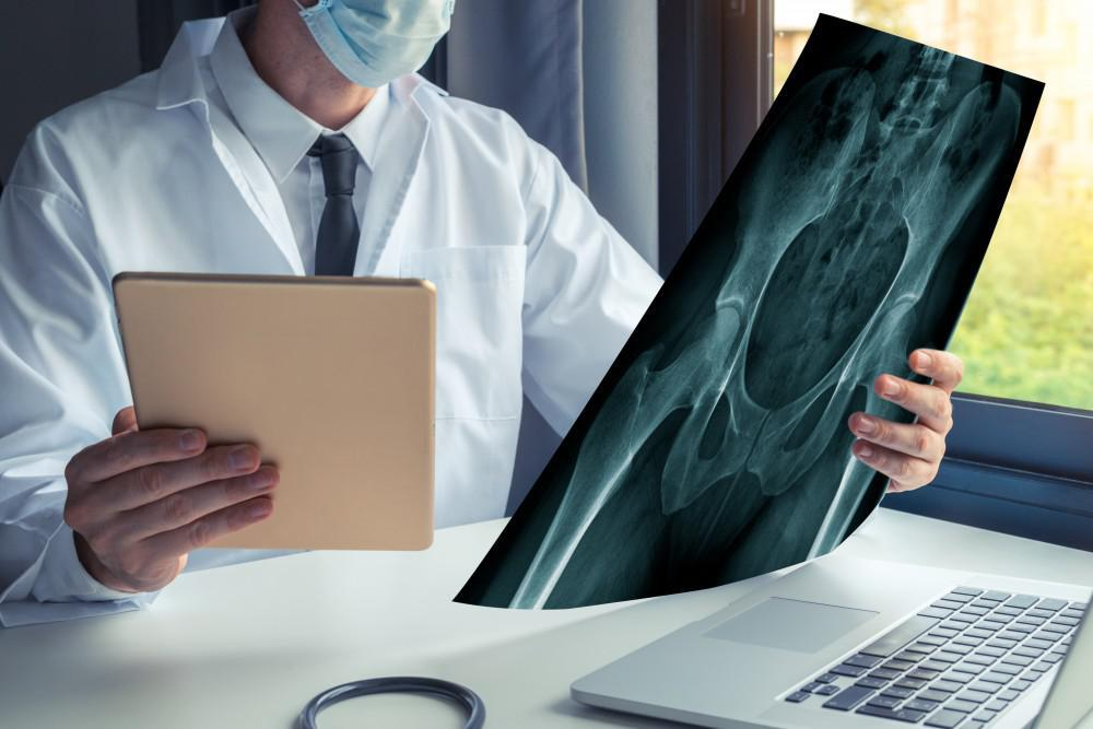 Hip Specialist Reviewing Imagery