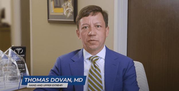 Hand Doctor, Thomas Dovan, in Nashville, TN, and Franklin, TN