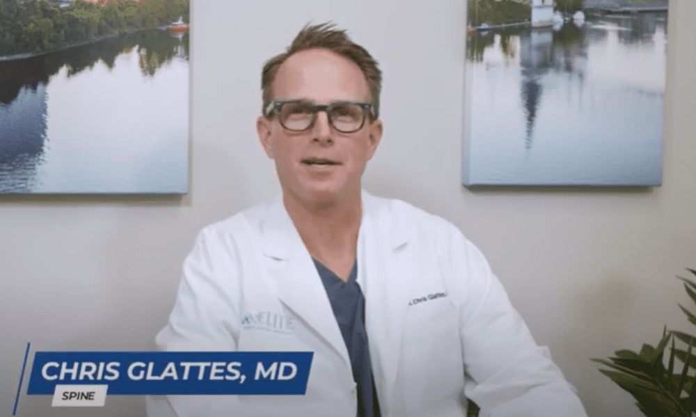 Spine Specialist in Nashville, TN, Dr. Chris Glattes