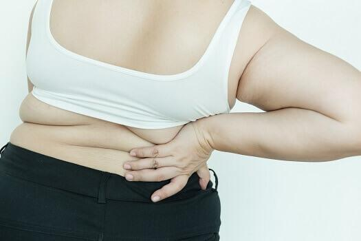 How obesity causes back pain