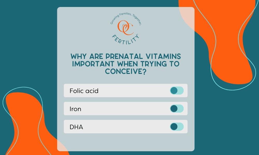 Why prenatal vitamins are important