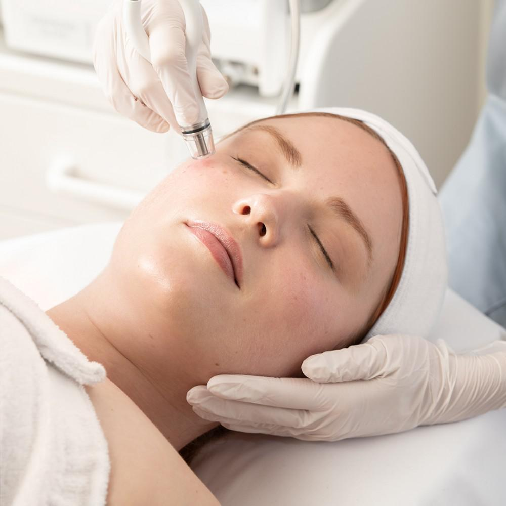 The Diamond Glow Facial is one of our most popular at Empowerment Med