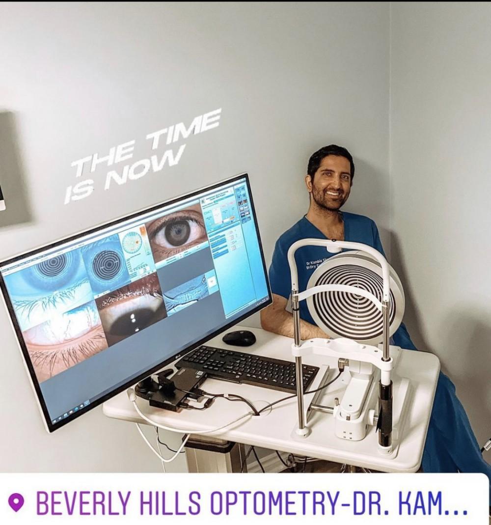 Dr Silani Oculus Keratograph Dry Eye