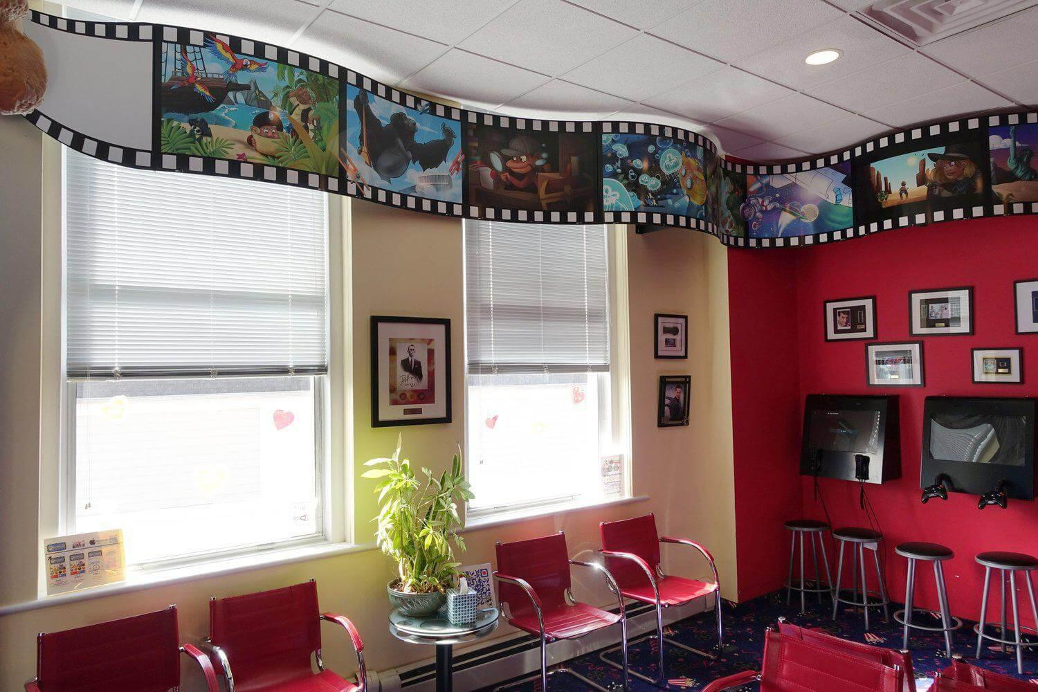 Gallery image about A fun-filled waiting room, for all ages!