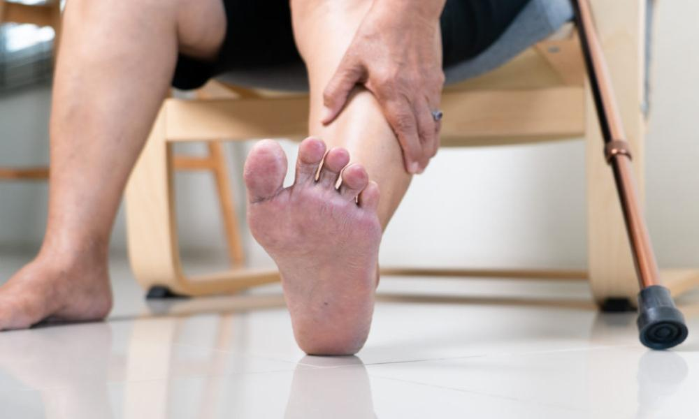 How to spot the warning signs of a diabetic ulcer