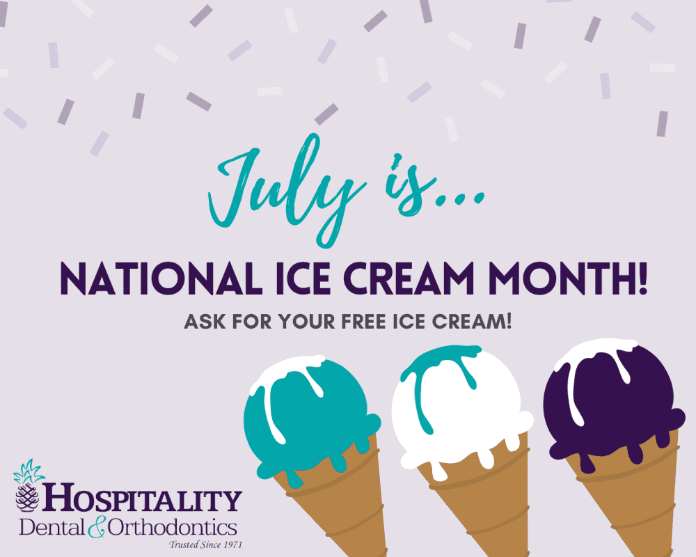 july is national ice cream month ask for your free ice cream